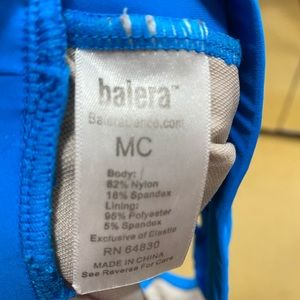 Balera Other - Balera blue crop top - Size MC
